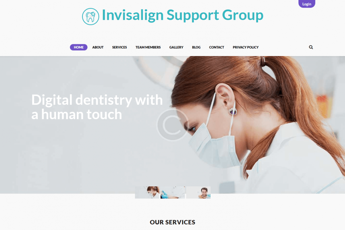 invisalignsupportgroup.com-home